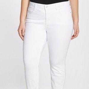 NYDJ Nichelle Roll Cuff Ankle Jeans Sz 22W ~~ $134